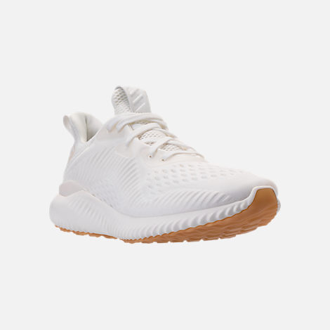 Three Quarter view of Women's adidas AlphaBounce EM Undyed Running Shoes in Non-Dyed