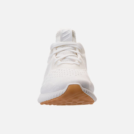 Front view of Women's adidas AlphaBounce EM Undyed Running Shoes in Non-Dyed