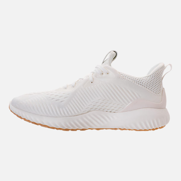 Left view of Women's adidas AlphaBounce EM Undyed Running Shoes in Non-Dyed
