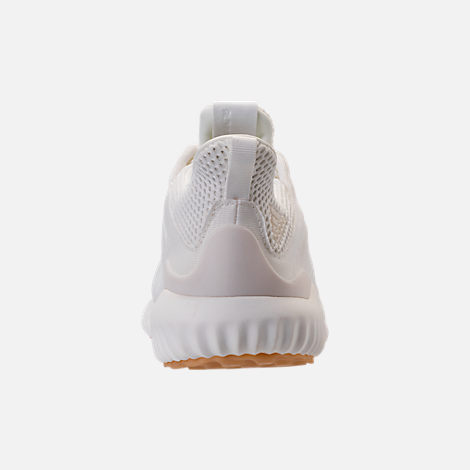 Back view of Women's adidas AlphaBounce EM Undyed Running Shoes in Non-Dyed