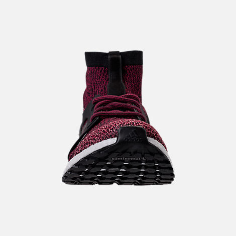 Front view of Women's adidas UltraBOOST X ATR Running Shoes in Mystery Ruby/Core Black/Trace Pink