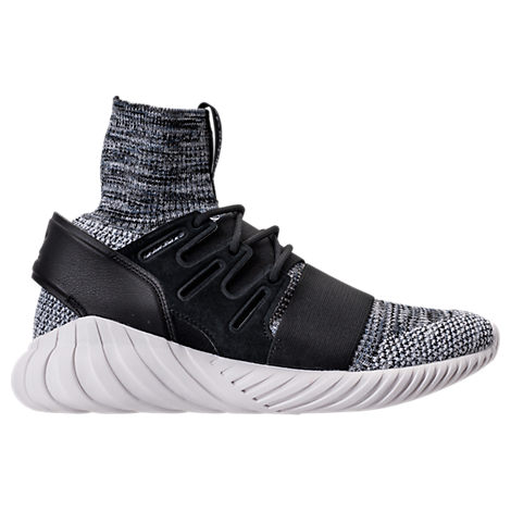adidas Tubular Doom Sock Primeknit Shoes Grey adidas New