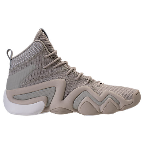 quality design 2bb6e b8ae9 Adidas Originals Adidas MenS Crazy 8 Adv Circular Knit Basketball Sneakers  From Finish Line In Grey