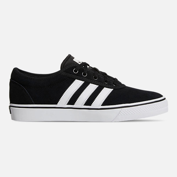 Right view of Men's adidas Adiease Casual Skate Shoes in Core Black/Cloud White/Core Black