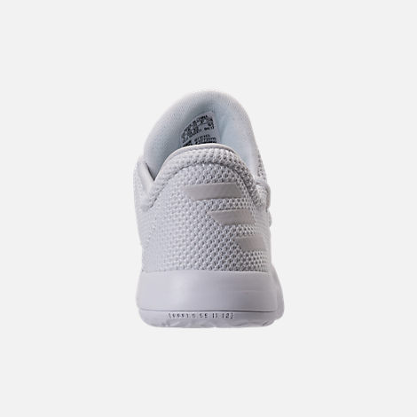 Back view of Boys' Preschool adidas Harden Vol. 1 Basketball Shoes in Footwear White/Legend Ink