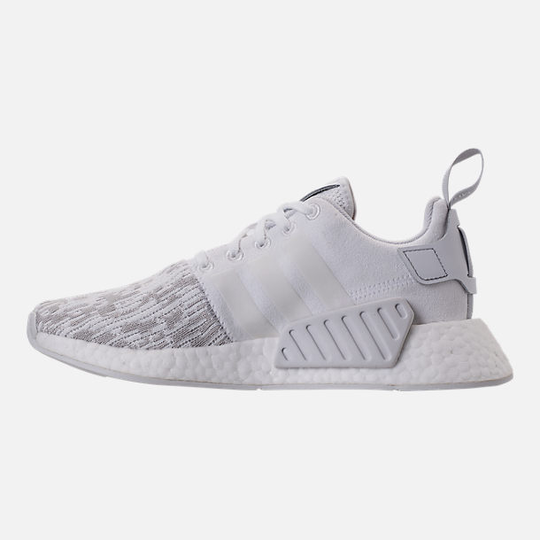 Left view of Women's adidas NMD R2 Casual Shoes