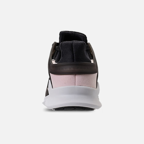 Back view of Women's adidas EQT Support ADV Casual Shoes in Black/Black/White