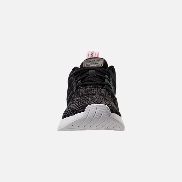 cf4c6f306 Front view of Women s adidas NMD R2 Casual Shoes in Black Pink