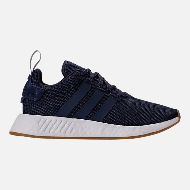 Right view of Women's adidas NMD R2 Casual Shoes in Legend Ink/Trace Blue/Grey