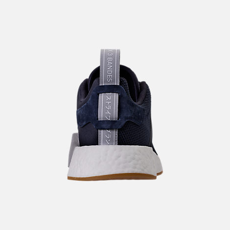 Back view of Women's adidas NMD R2 Casual Shoes in Legend Ink/Trace Blue/Grey