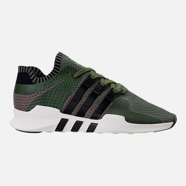 Right view of Men's adidas EQT Support ADV Primeknit Casual Shoes in ST Major/Core Black/Branch