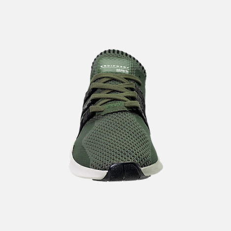 Front view of Men's adidas EQT Support ADV Primeknit Casual Shoes in ST Major/Core Black/Branch