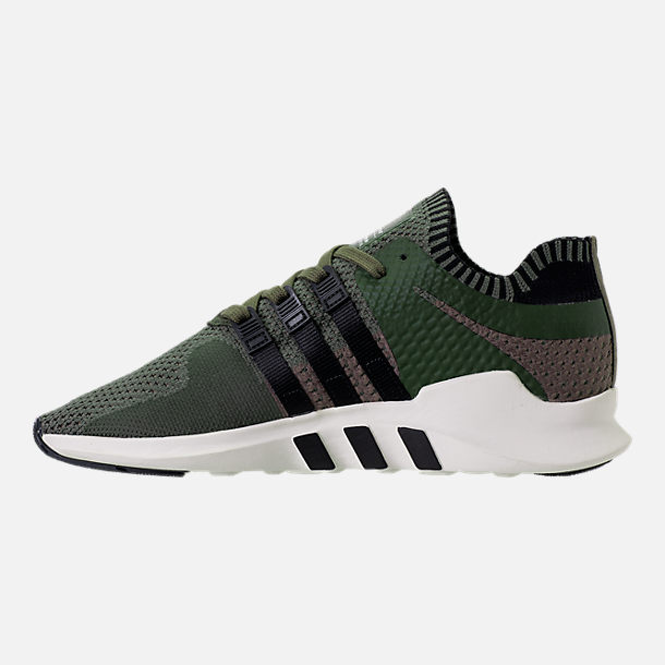 Left view of Men's adidas EQT Support ADV Primeknit Casual Shoes in ST Major/Core Black/Branch