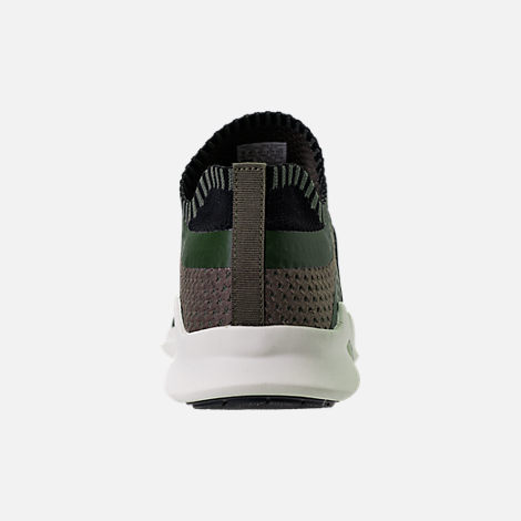 Back view of Men's adidas EQT Support ADV Primeknit Casual Shoes in ST Major/Core Black/Branch