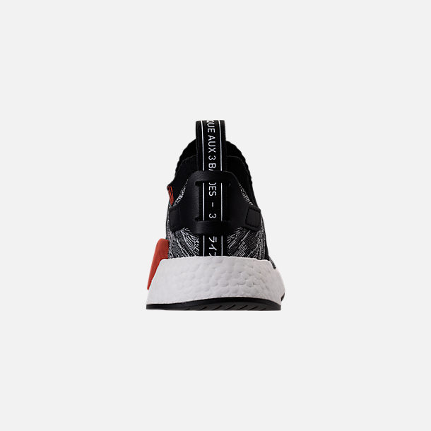 Back view of Men's adidas NMD R2 Primeknit Casual Shoes