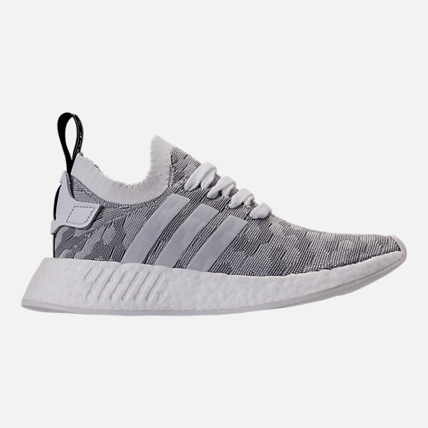 4cd79300b Right view of Women s adidas Originals NMD R2 Primeknit Casual Shoes in  White Core Black