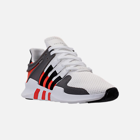 Three Quarter view of Men's adidas EQT Support ADV Casual Shoes in Footwear  White/Core