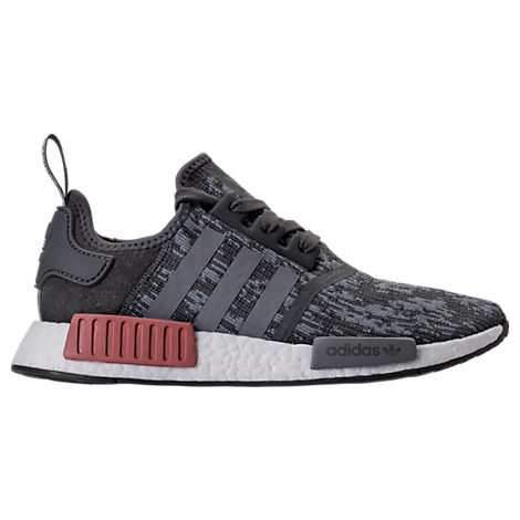 37ee683accd77 Adidas Originals Adidas Women S Nmd R1 Casual Sneakers From Finish Line In  Grey Raw Pink