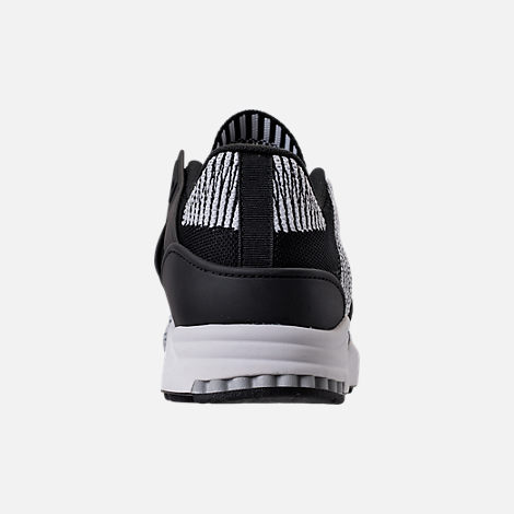 Back view of Men's adidas EQT Support RF Primeknit Casual Shoes in Core Black/Footwear White
