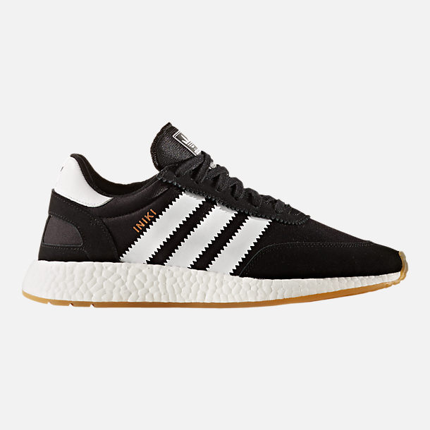 Right view of Men's adidas I-5923 Runner Casual Shoes in Core Black/Footwear White/Gum