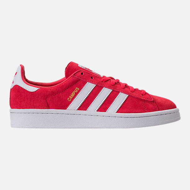 Right view of Women's adidas Campus Casual Shoes in Core Pink/Running White/Crystal White