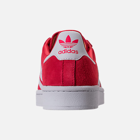 Back view of Women's adidas Campus Casual Shoes in Core Pink/Running White/Crystal White