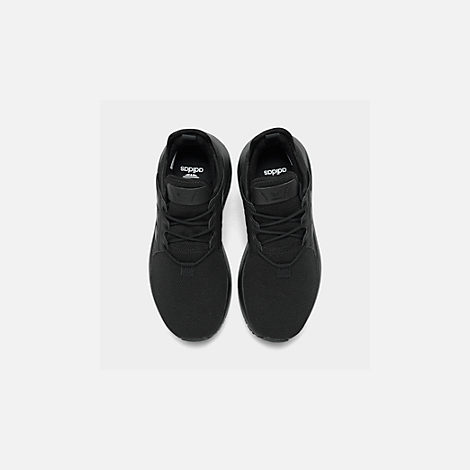 Back view of Boys' Grade School adidas Originals X_PLR Casual Shoes in Core Black
