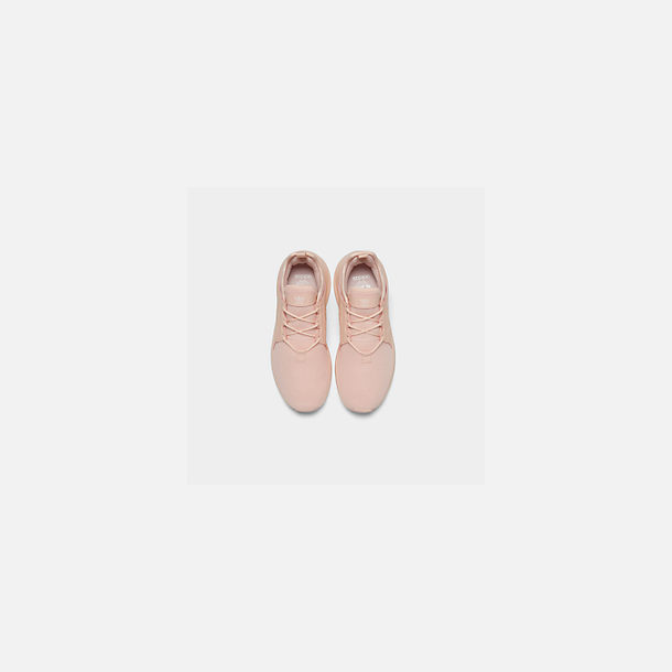 Back view of Girls' Big Kids' adidas Originals X_PLR Casual Shoes in Icey Pink/Icey Pink/Icey Pink