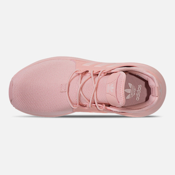 Top view of Girls' Big Kids' adidas Originals X_PLR Casual Shoes in Icey Pink/Icey Pink/Icey Pink