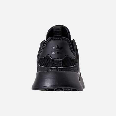 Back view of Boys' Preschool adidas Originals X_PLR Casual Shoes in Core Black