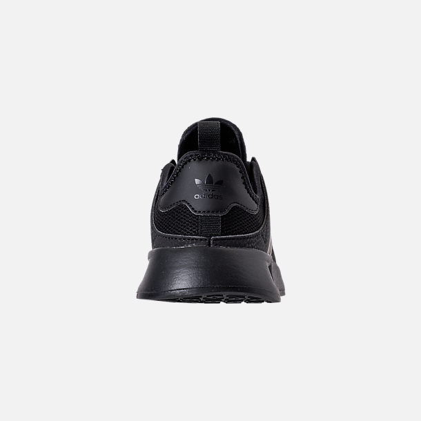 Back view of Boys' Little Kids' adidas Originals X_PLR Casual Shoes in Core Black