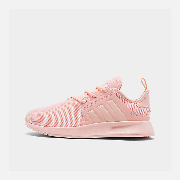 Right view of Girls' Little Kids' adidas Originals X_PLR Casual Shoes in Icey Pink/Icey Pink