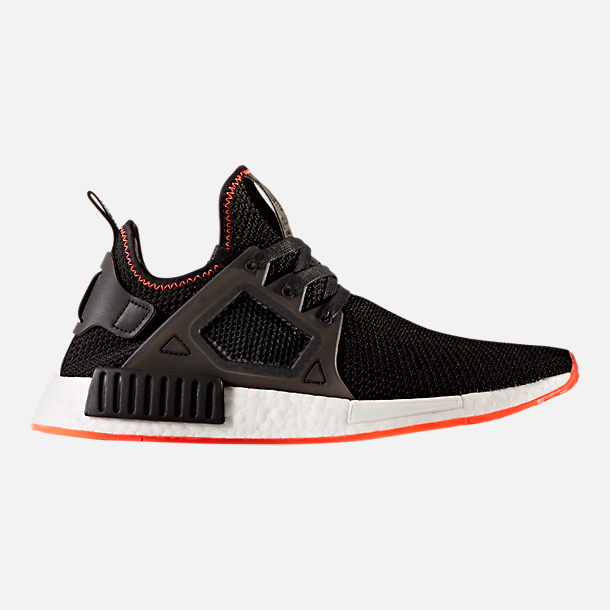 Right view of Men's adidas NMD Runner XR1 Casual Shoes in Core Black/Solar Red