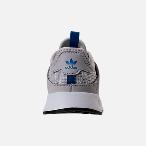 Back view of Boys' Toddler adidas Originals X_PLR Casual Shoes in Grey/Grey/White