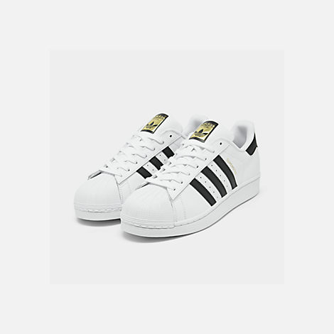 men's adidas superstar metallic casual shoes