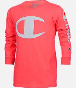 Kids' Champion Heritage Logo Long Sleeve T-Shirt Product Image