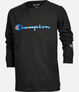 Kids' Champion Heritage Logo Long Sleeve T-Shirt