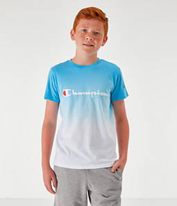 Kids' Champion Dip Dyed Logo T-Shirt