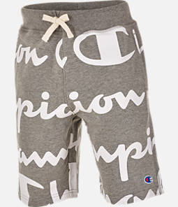 Boys' Champion Giant Script Sweat Shorts