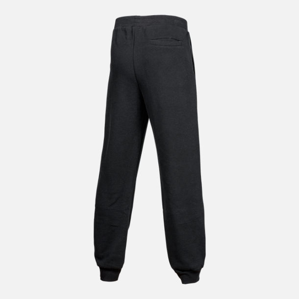 Back view of Kids' Champion Heritage Jogger Sweatpants in Black
