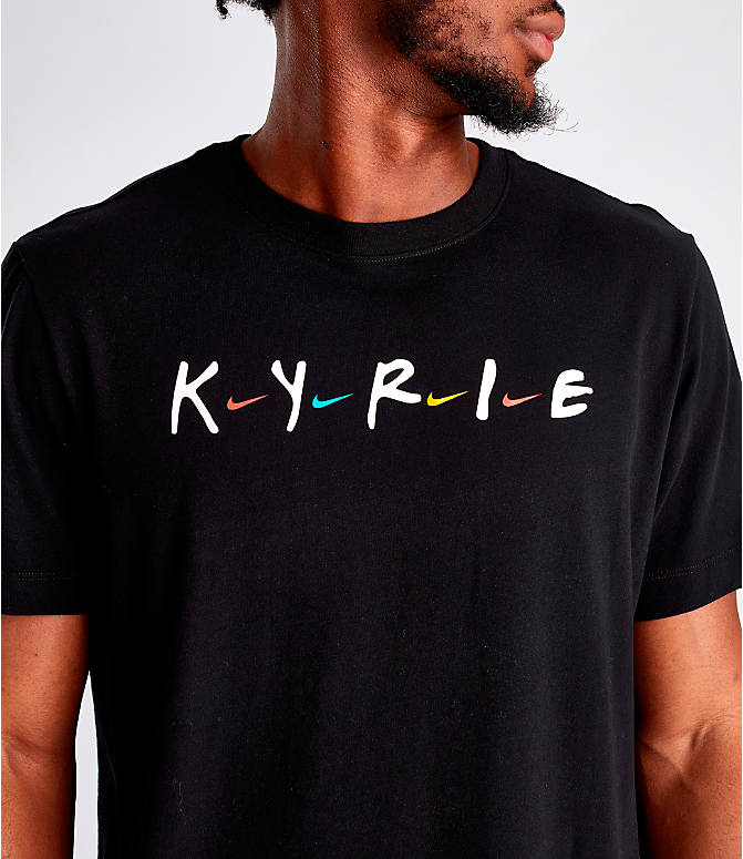 Detail 1 view of Men's Nike Dri-FIT Kyrie Friends Basketball T-Shirt in Black