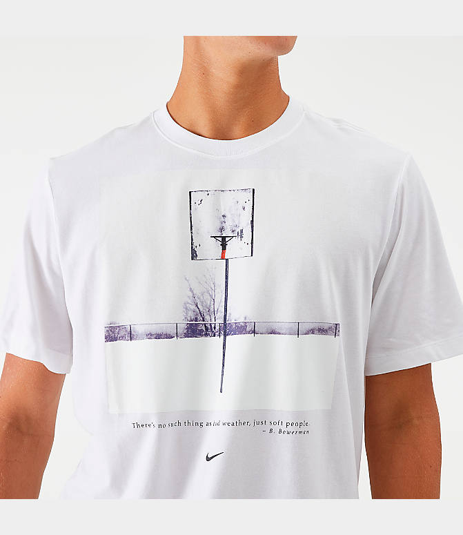 run shoes exclusive deals great fit Men's Nike Dri-FIT Snow Hoop Basketball T-Shirt
