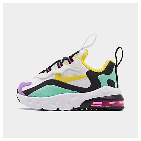 sports shoes a49b2 d11fd Boys' Toddler Air Max 270 React Casual Shoes, Black - Size 7.0