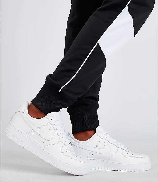 Detail 2 view of Women's Nike Sportswear Heritage Track Pants in Black/White