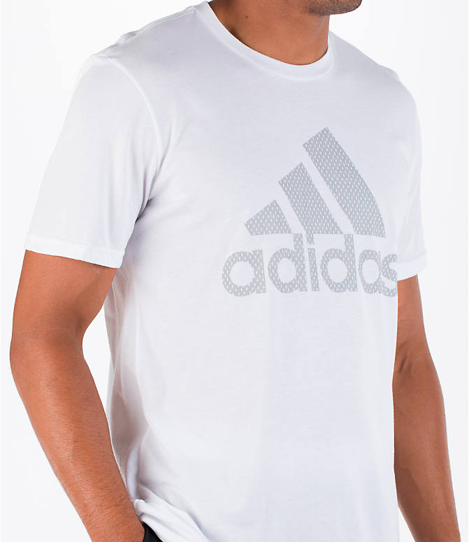 Detail 2 view of Men's adidas Badge of Sport Metal T-Shirt in White