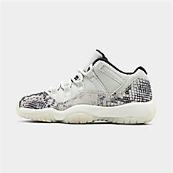 reputable site 9e11c bd2d9 Big Kids  Air Jordan Retro 11 Low LE Basketball Shoes