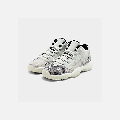 Big Kids' Air Jordan Retro 11 Low Le Basketball Shoes by Nike