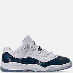 ada32c9dce07 Little Kids  Air Jordan Retro 11 Low LE Basketball Shoes