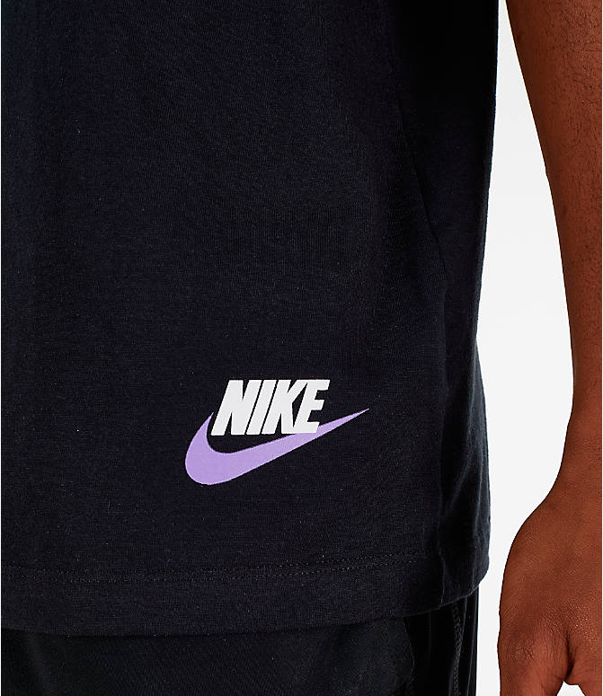 Detail 1 view of Men's Nike Sportswear Have a Nike Day Tank in Black