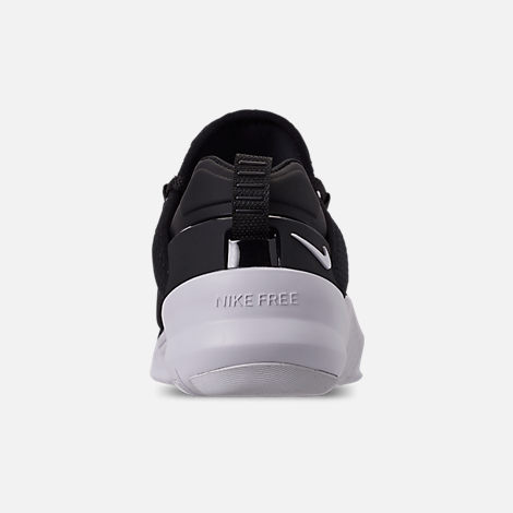 Back view of Women's Nike Free Metcon 2 Training Shoes in Black/White